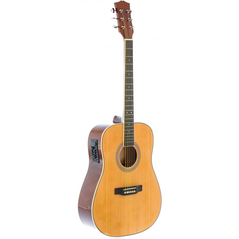 Fabio FAW-801 CEQ N Электро-акустическая гитара