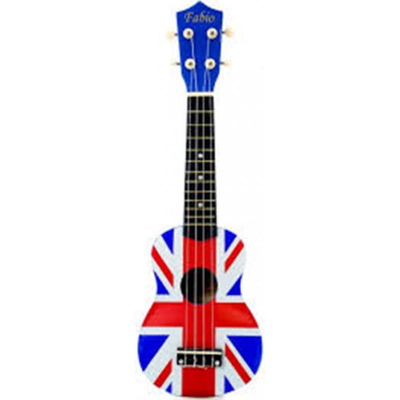 Укулеле Fabio XU21-11 Британский флаг