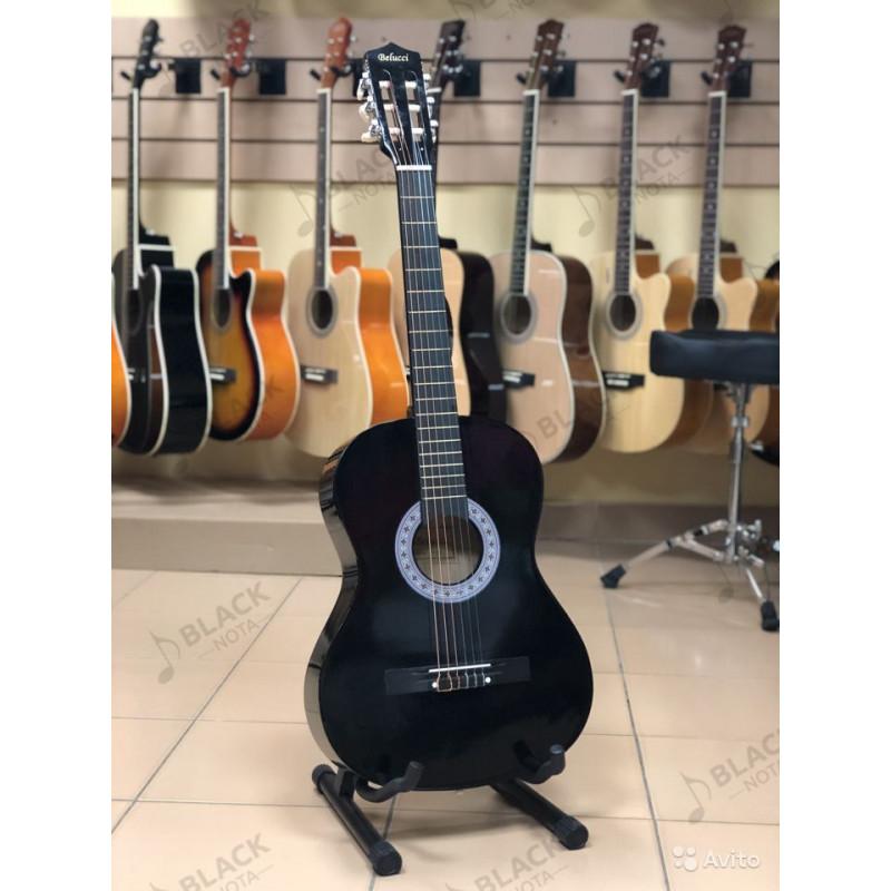 Классическая гитара Belucci 3805 BK 7/8