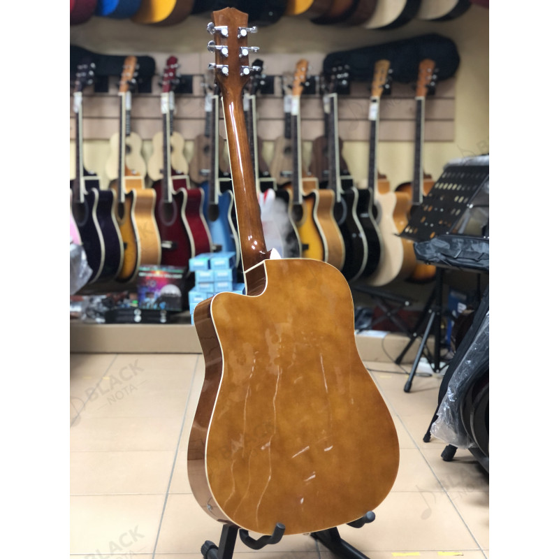 Гитара с подключением акустическая Fabio FAW-701VS CEQ