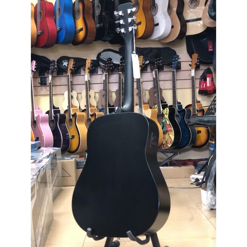Гитара электроакустическая ИНДОНЕЗИЯ JET JDE-255 / BKS Джет