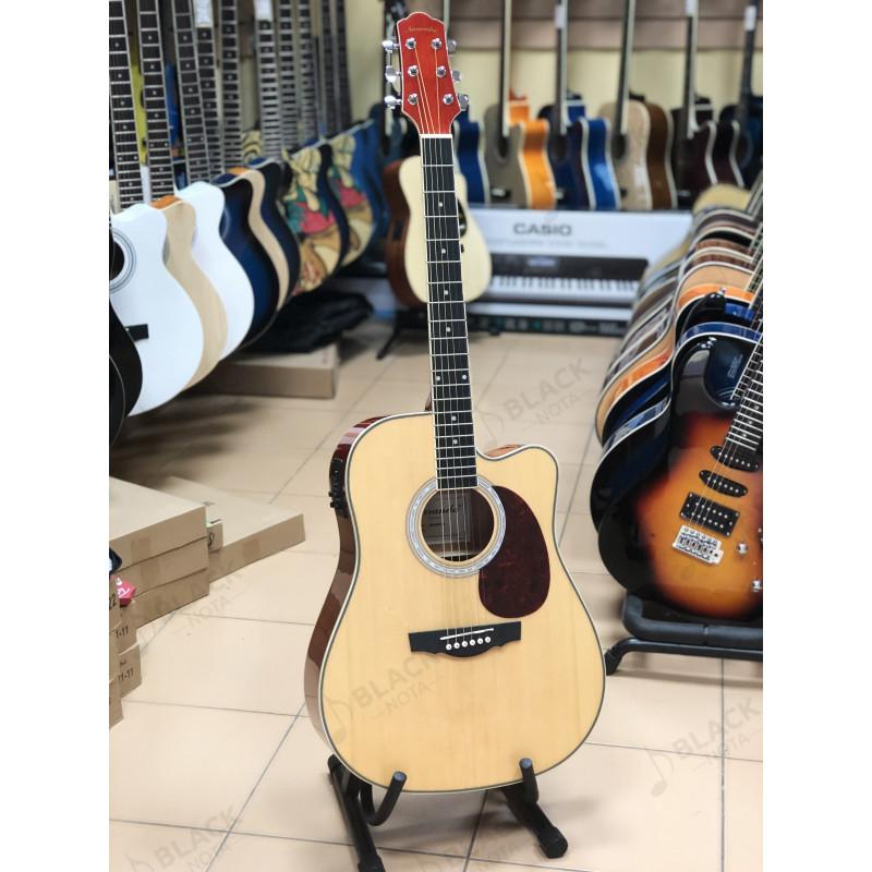 Naranda DG220CEN Акустическая гитара со звукоснимателем, с вырезом